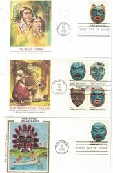 LOT OF NATIVE AMERICAN FIRST DAY COVERS