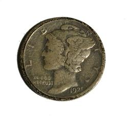 1921 Mercury Dime Key