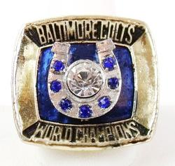 Baltimore Colts 1970 Replica Super Bowl Ring