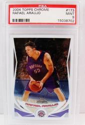 Rafael Araujo Rookie Basketball Card, MT9