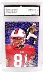 Terry Holt, Rams Rookie Football Card, 10 Mint