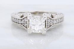 1 CT GIA Certified High Quality Diamond Ring