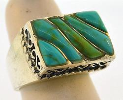 Turquoise Vintage Sterling Silver Ring