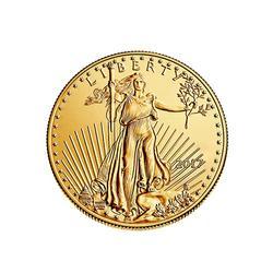 2017 Gold American Eagle 1/2 oz $25 BU