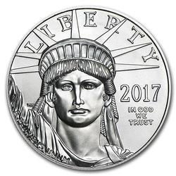 2017 $100 Platinum Eagle 1oz BU