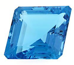 125.57 CT Blue Topaz