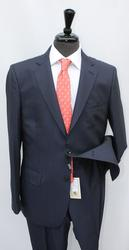 Stylish Navy Color Slim Fit Suit By Galante
