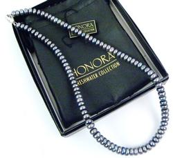 Honora Freshwater Peacock Pearl Necklace