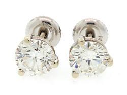 2.2 CTW DIAMOND STUD EARRINGS, CERTIFIED