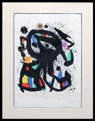 1975 MIRO HAND SIGNED LITHOGRAPH, L'ETUDIANT