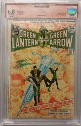 Green Lantern # 86 October 1970 CBCS Signed Neal Adams