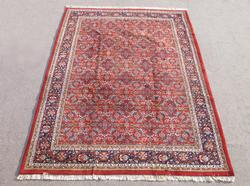 Simply Beautiful Allover Floral Mahal Design Indo Rug 8x12