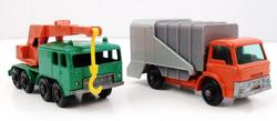 2 Lesney Match Box Trucks