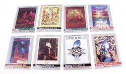 8 NFL Pro Set Super Bowl Cards, 1990