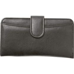 Womand Black Leather Wallet