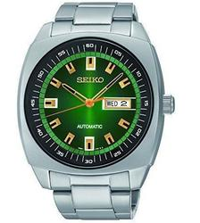 Green Dial Seiko Automatic Day/Date, New in Box