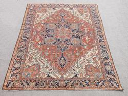 Extremely Rare Antique Persian Serapi Rug