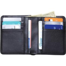 Fancy Gents Black Biforld Leather Wallet