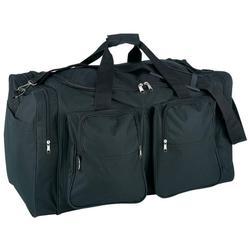 Brand New Large Heavy Duty Black Duffle Bag