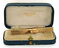 Vintage Tiffany & Co Tie Bar in Gold