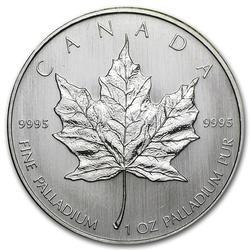 1 oz Palladium Maple Leaf