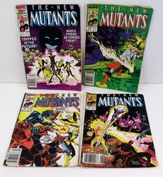 4 The New Mutants Comic Books