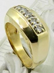 Men's 1/2 Carat Diamond Ring