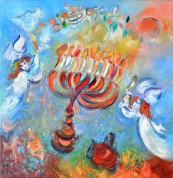 Ben Avram Beautiful Acrylic on Canvas