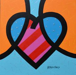 Valter Morais Beautiful Acrylic A Heart Divided