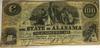 Alabama $100 note Jan 1 1864  CSA VF30 PCGS