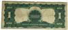 1899  $1 Black Eagle Silver Certificate Star