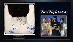 Foo Fighters X4 Signed Nothing Left To Lose Album Cover