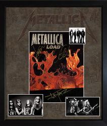 Metallica James Hetfield Kirk Hammett Lars Jason Autogr