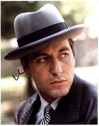 Al Pacino Autographed Signed 11x14 Godfather Photo AFTA