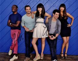 Max Greenfield Lamorne Morris New Girl Autographed Sign