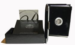 1997 Proof $10 US Platinum Proof with box and papers