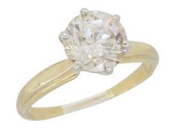 Chocolate Color1.28CT Diamond Ring