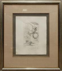 Limited Edition Signed Dali Lithograph