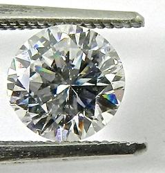 Certified 1.61 ct. round diamond