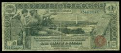 Scarce 1896 Series $1 Educational Silver Certificate