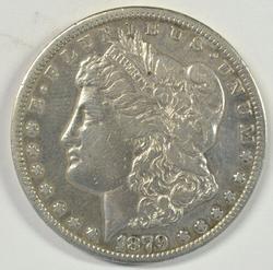 Rare key date 1879-CC Morgan Silver Dollar