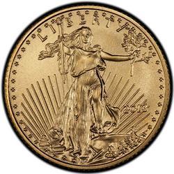 BU 2013 $5 Gold American Eagle, 1/10th oz