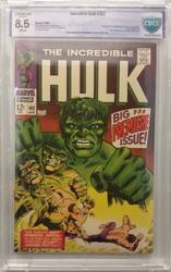 The Incredible Hulk # 102 April 10, 1968 Marvel Comics CBCS 8.5