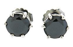 6.0 CTW Diamond Stud Earrings in Sterling