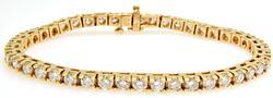 High End 7 cttw Diamond Tennis Bracelet