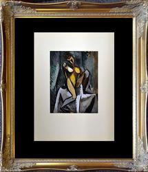 Pablo Picasso Pochoir Circa 1962 'Nu Assis'