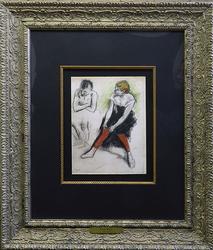 Edgar Degas, Danseuse aux bas rouges