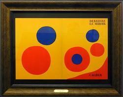 Alexander Calder, Derriere Le Mirroir