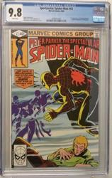 Spectacular Spiderman # 43 June 1980 Marvel CGC 9.8