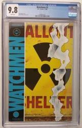 Watchmen # 3 November 10, 1986 DC Comics CGC 9.8